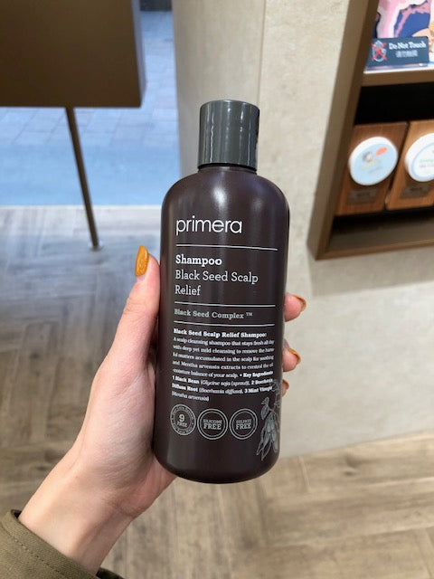 Primera Black Seed Scalp Relief Shampoo 300ml - whoami