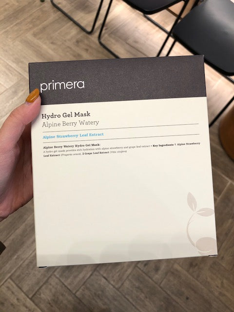 Primera Alpine Berry Watery Hydro Gel Mask x 5pcs - whoami