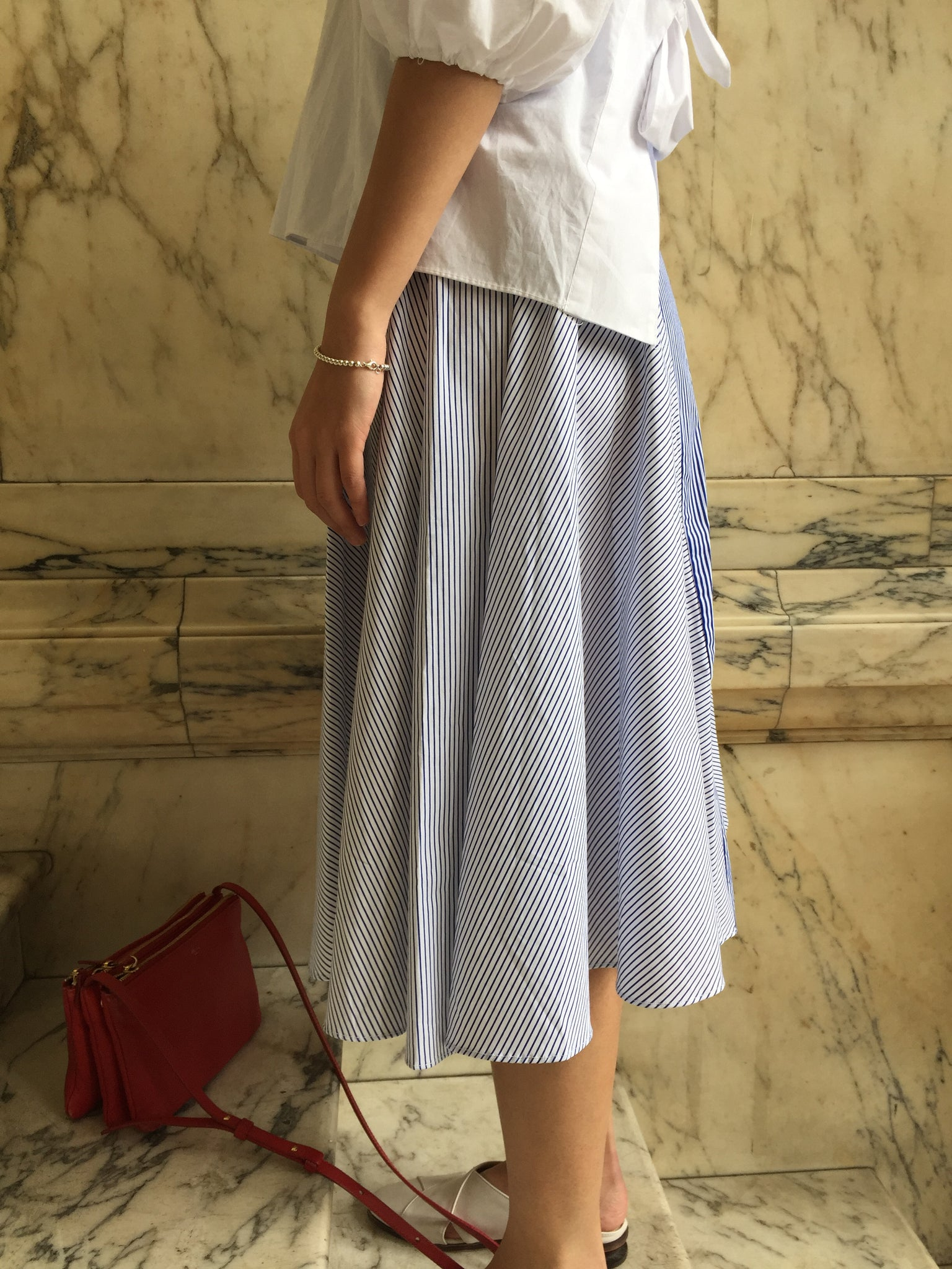 3D Stripe Skirt - whoami