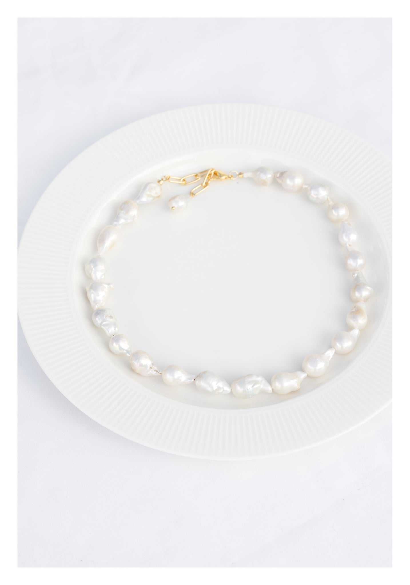 Imperfect Pearl Necklace