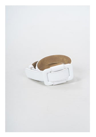 Leather Buckle Belt - whoami