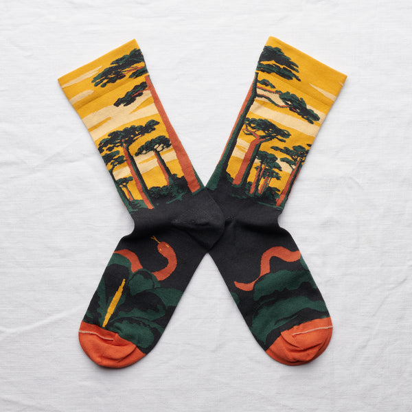 Labyrinthe Baobab Sock Buttercup - whoami