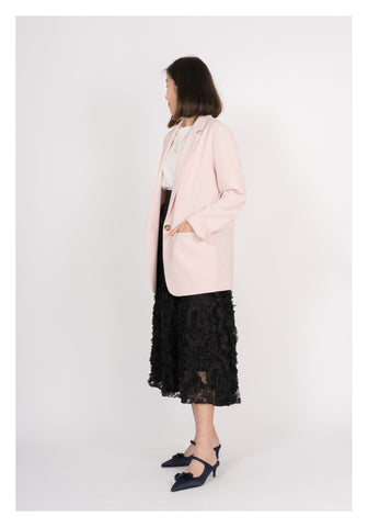 Loose Cut Blazer Pink