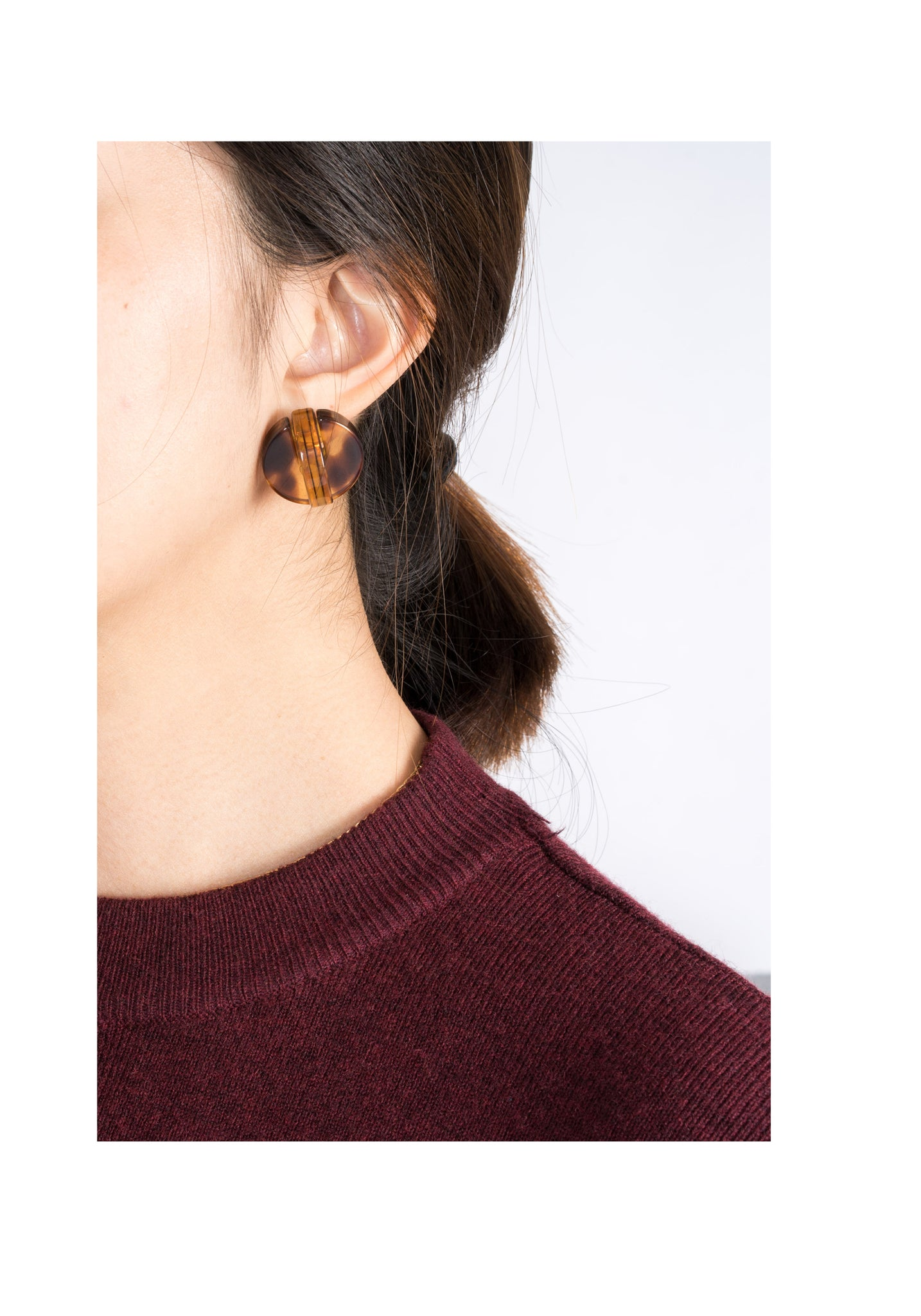 Circle Interlock Earrings - whoami