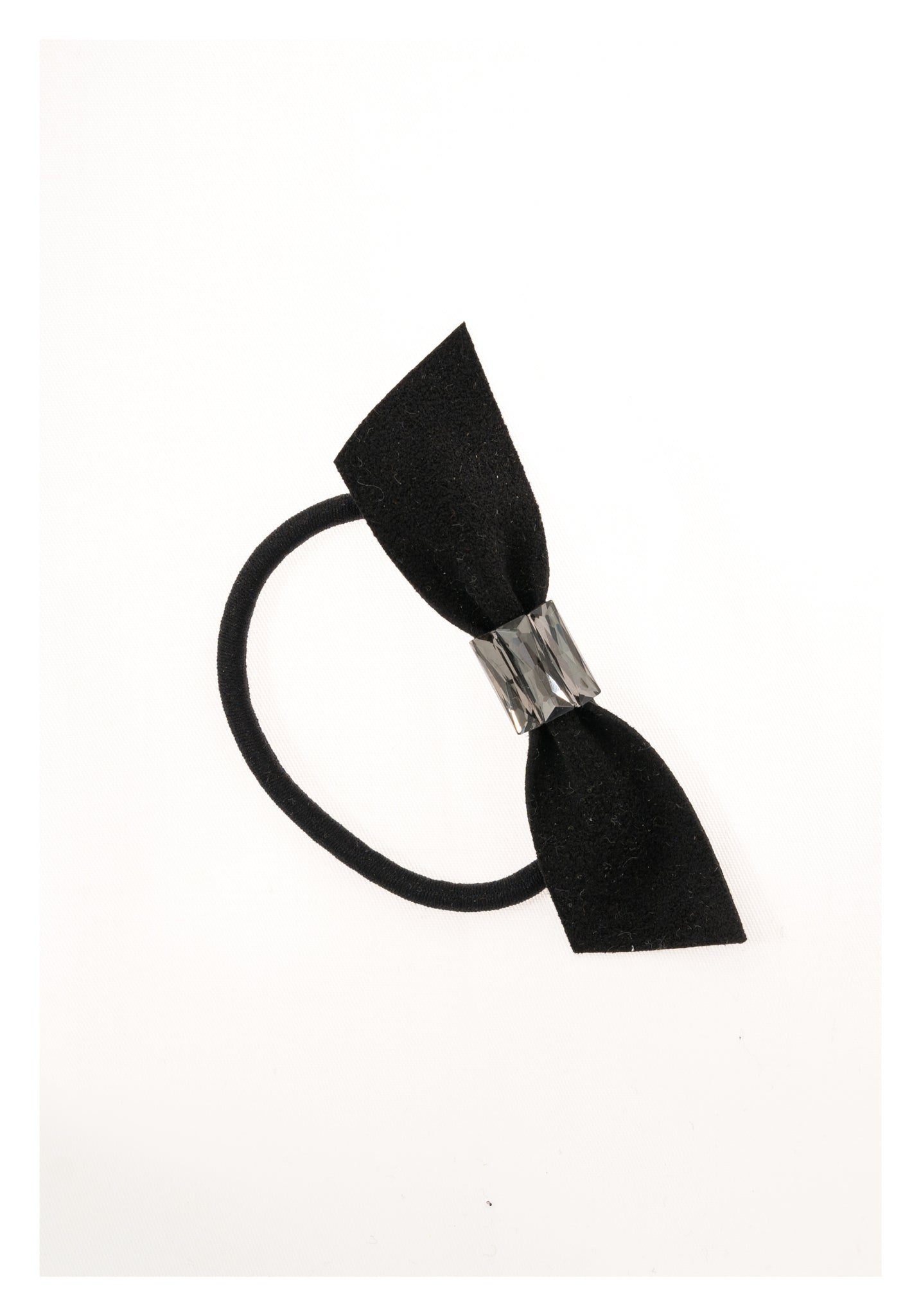 Middle Gem Ribbon Hairband Black - whoami