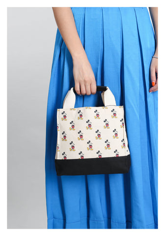 Mickey Monogram Canvas Bag - whoami