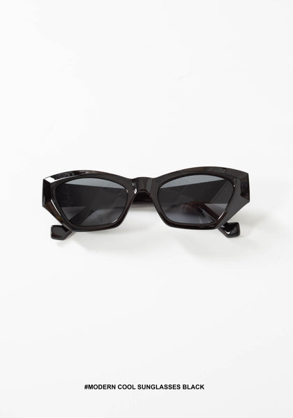 Modern Cool Sunglasses Black