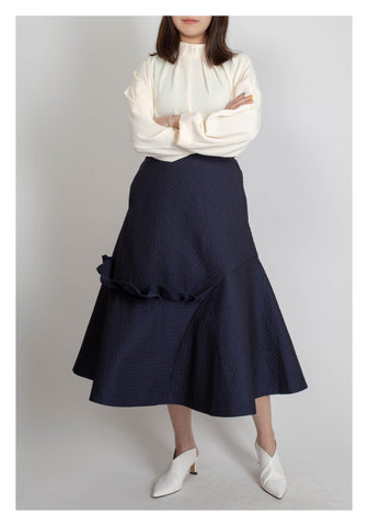 A Better Me Skirt Navy - whoami