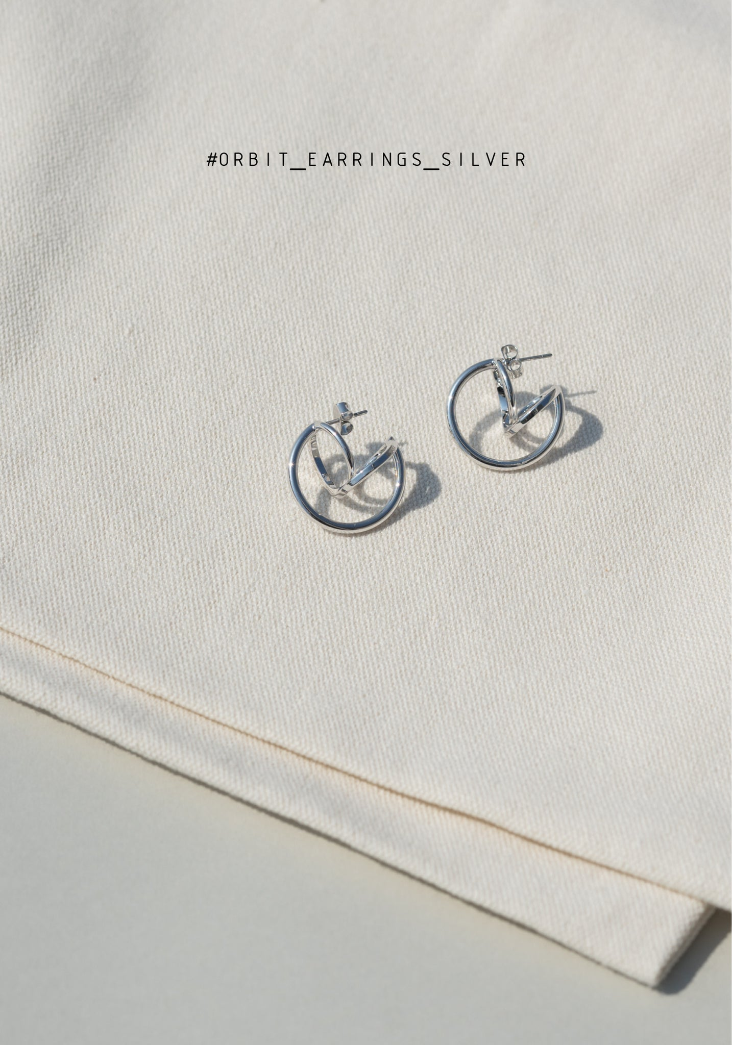Orbit Earrings Silver