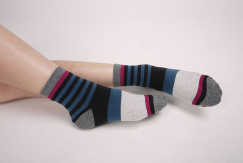 Gradient Stripe Socks