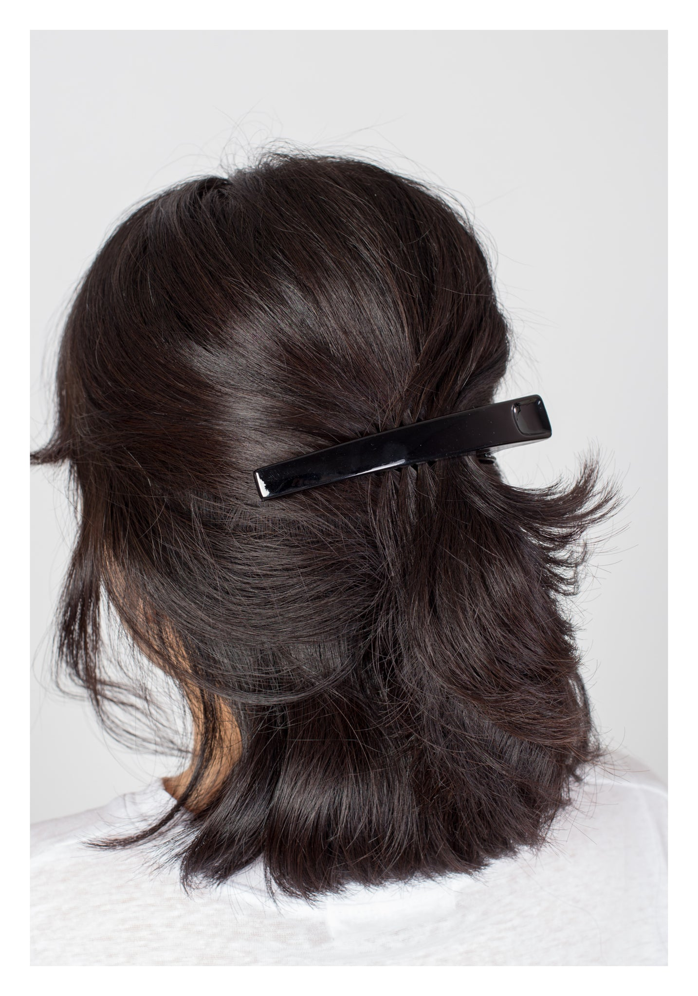 Parisian Daily Hairclip Black - whoami