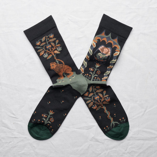 La Princesse Angel Socks Dark - whoami