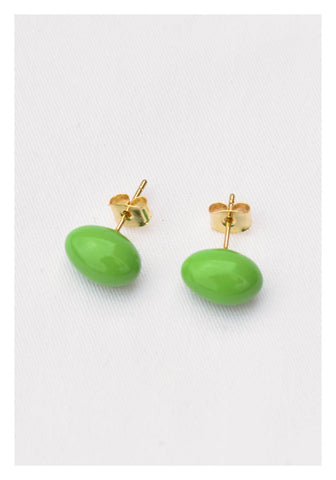 Pills Earrings Green - whoami