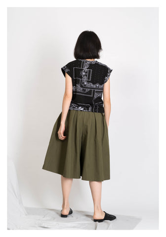 Pasiley Boxy Tee Black - whoami