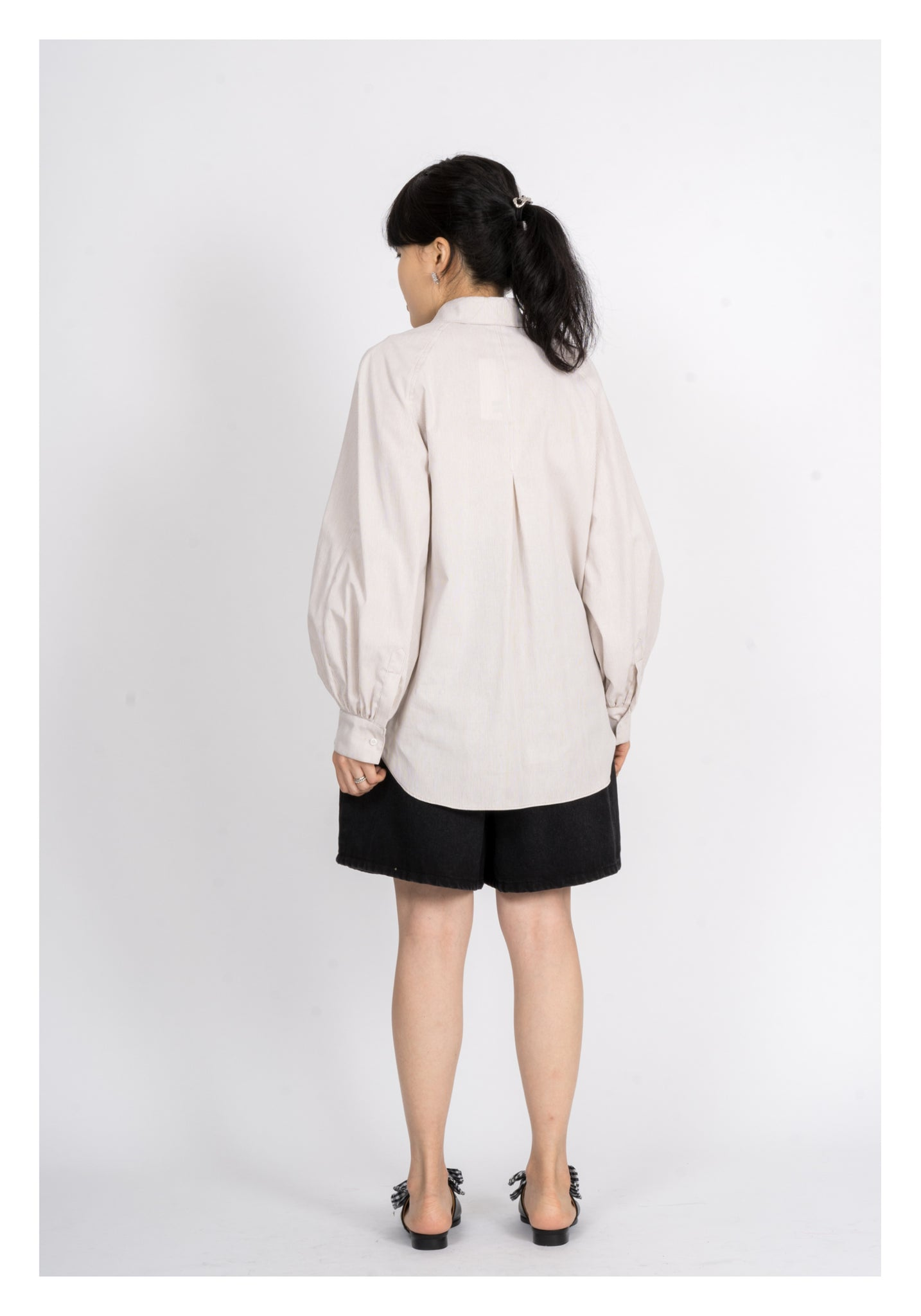 Reglan Sleeves Double Button Shirt - whoami