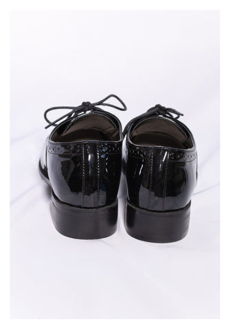 Sample Shoes - Patent Lace Up Shoes - whoami