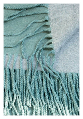 Double Face Cashmere Scarf Mint - whoami