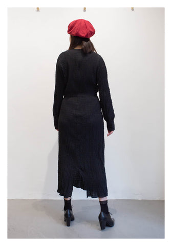 Simple Elegant Dress Black - whoami