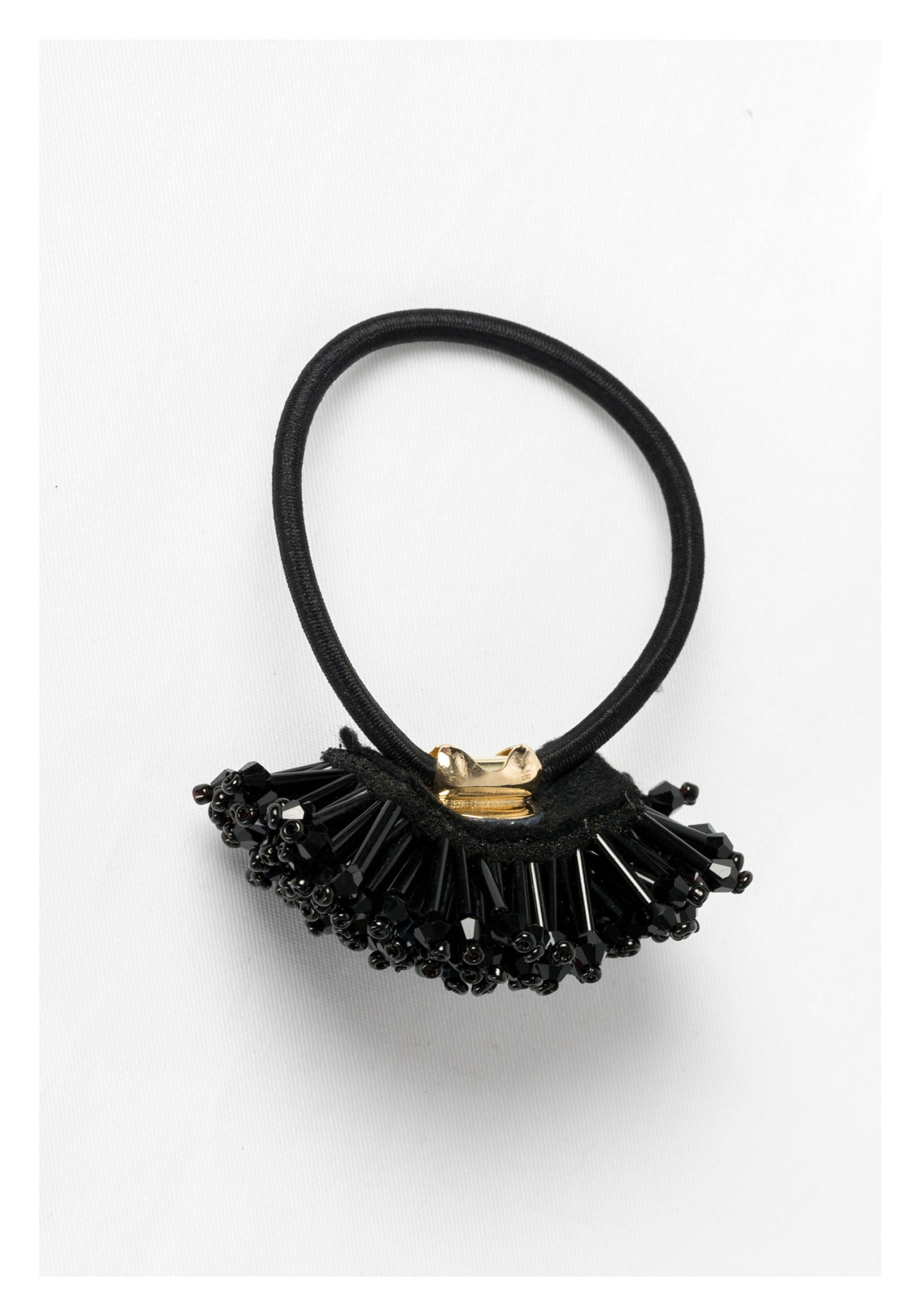 Sparkle Fur Hairbands Black - whoami