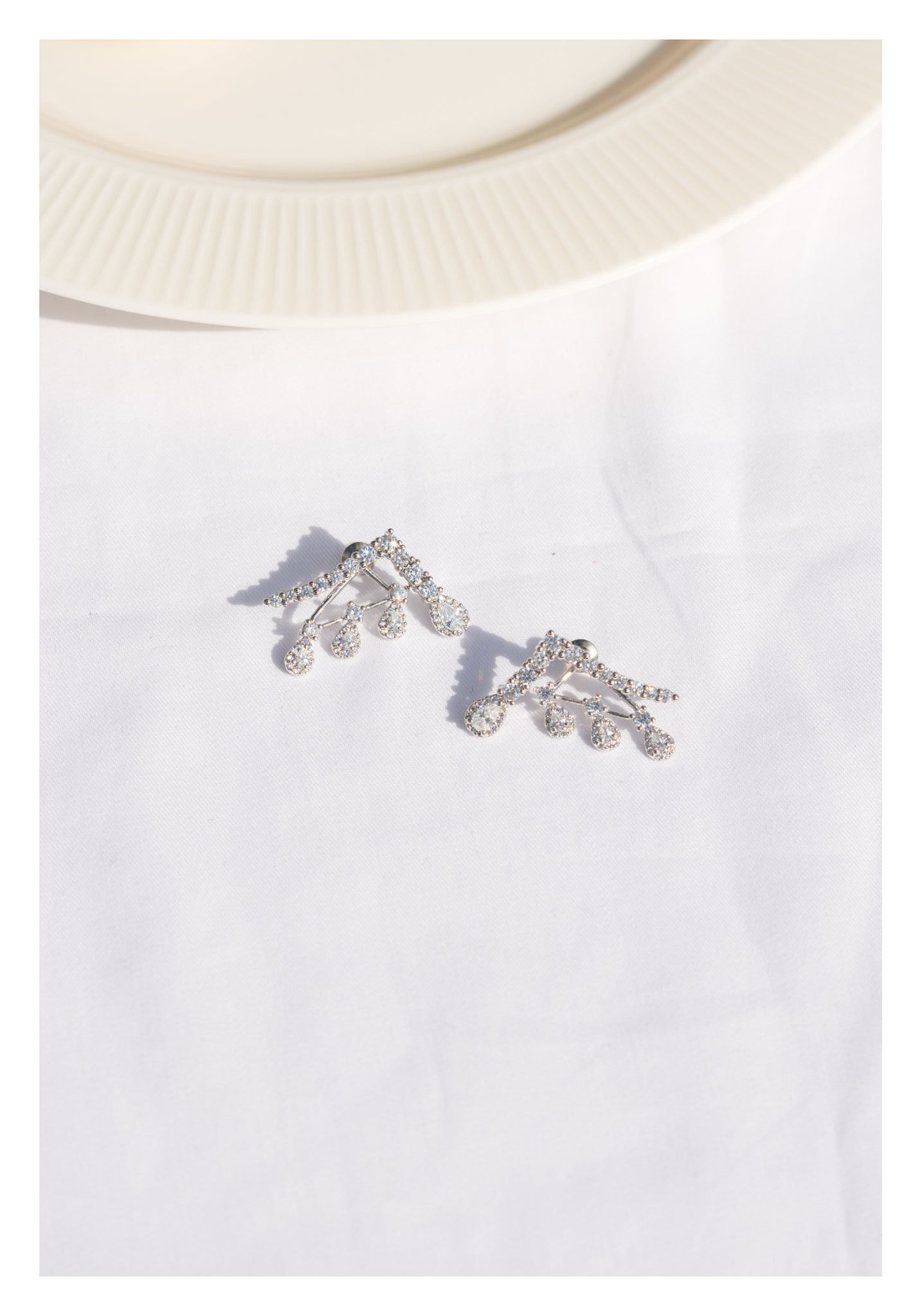 Sparkle Wing Earrings