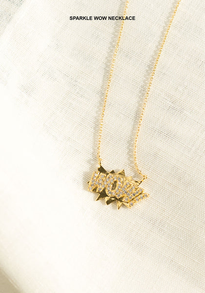 Sparkle Wow Necklace