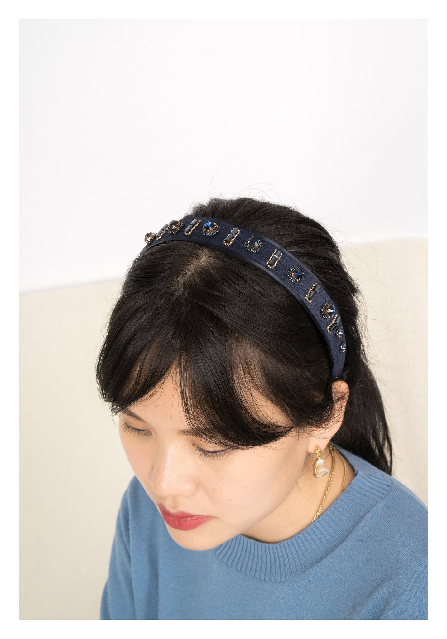 Swarovski Gem Head Band