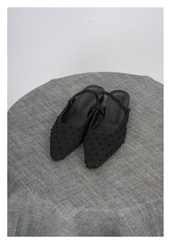 Sample Shoes - Dore Dot Mules