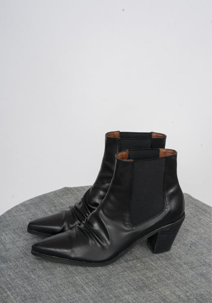 Sample Shoes - Emery Wrinkle Boots