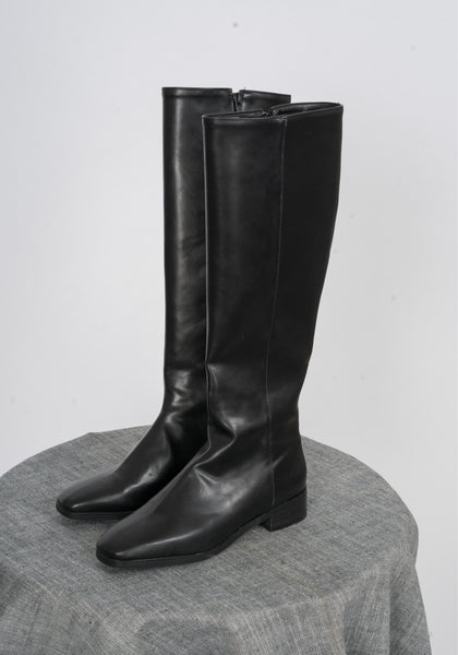 Sample Shoes - Raelyn Faux Leather Boots