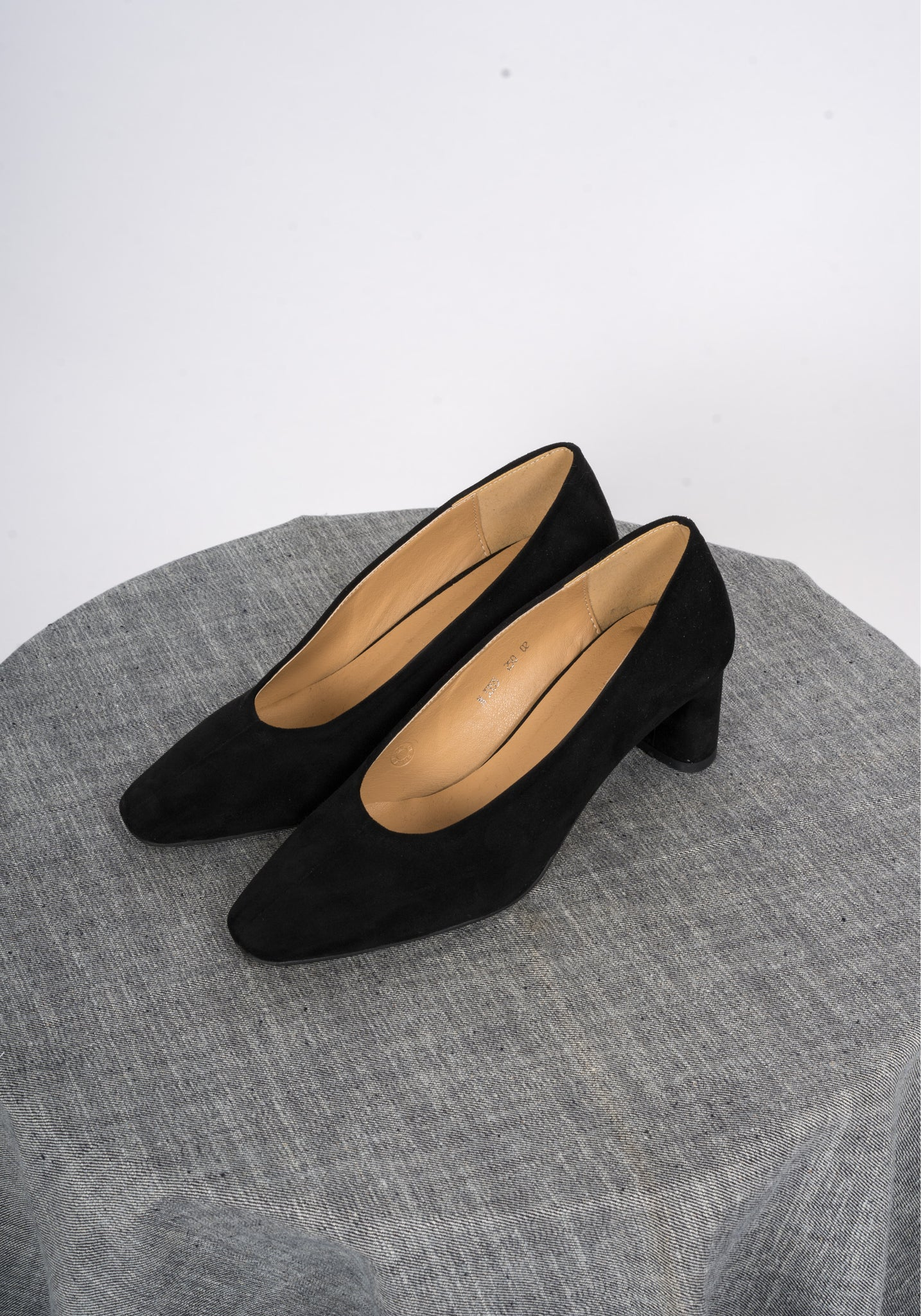 Sample Shoes - Alanis Suede Heels - whoami