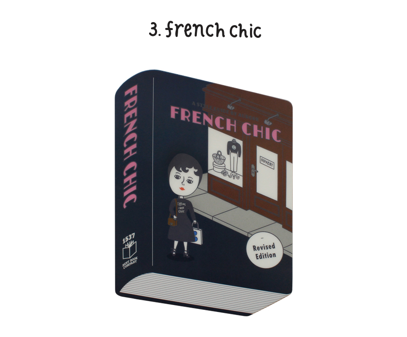 Book Mouse Pad French Chic - whoami