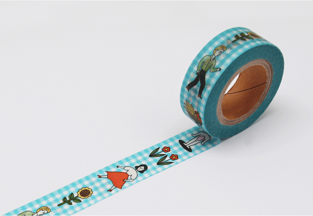 My Masking Tape Walk Together - whoami