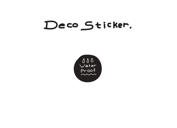 Deco Sticker The Cities We Love - whoami