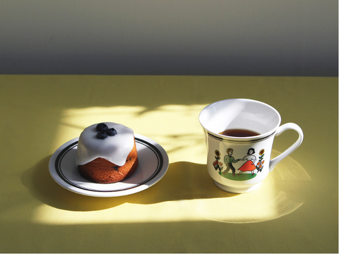 CUP AND SAUCER Walk Together - whoami