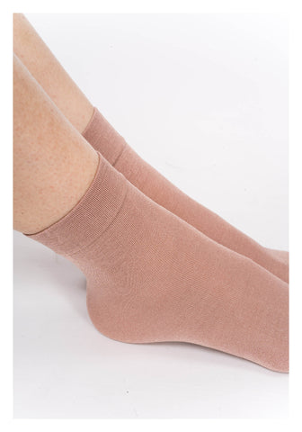 Silky Dusty Pink Socks - whoami