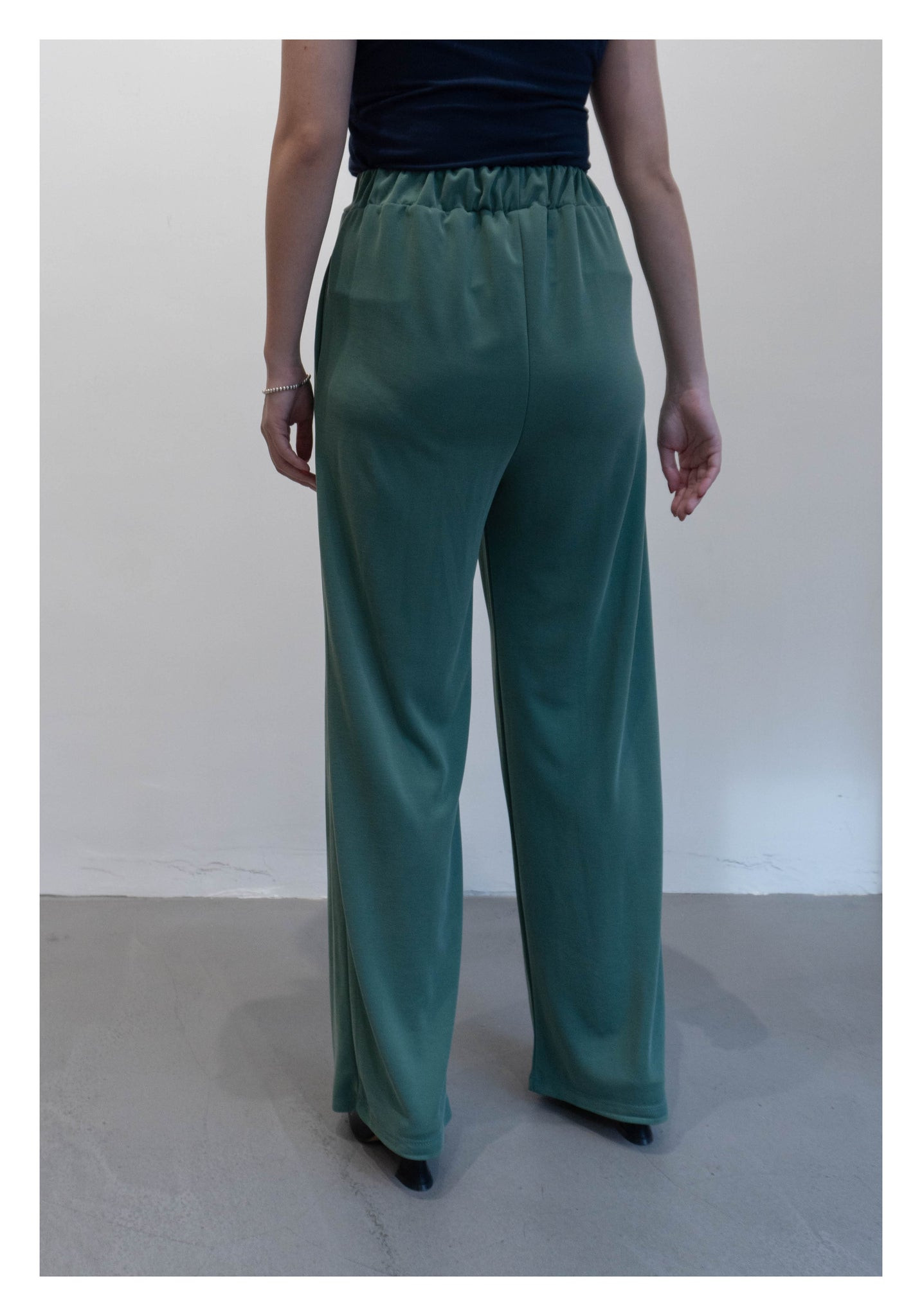 Soft Dripping Pants Turquoise - whoami