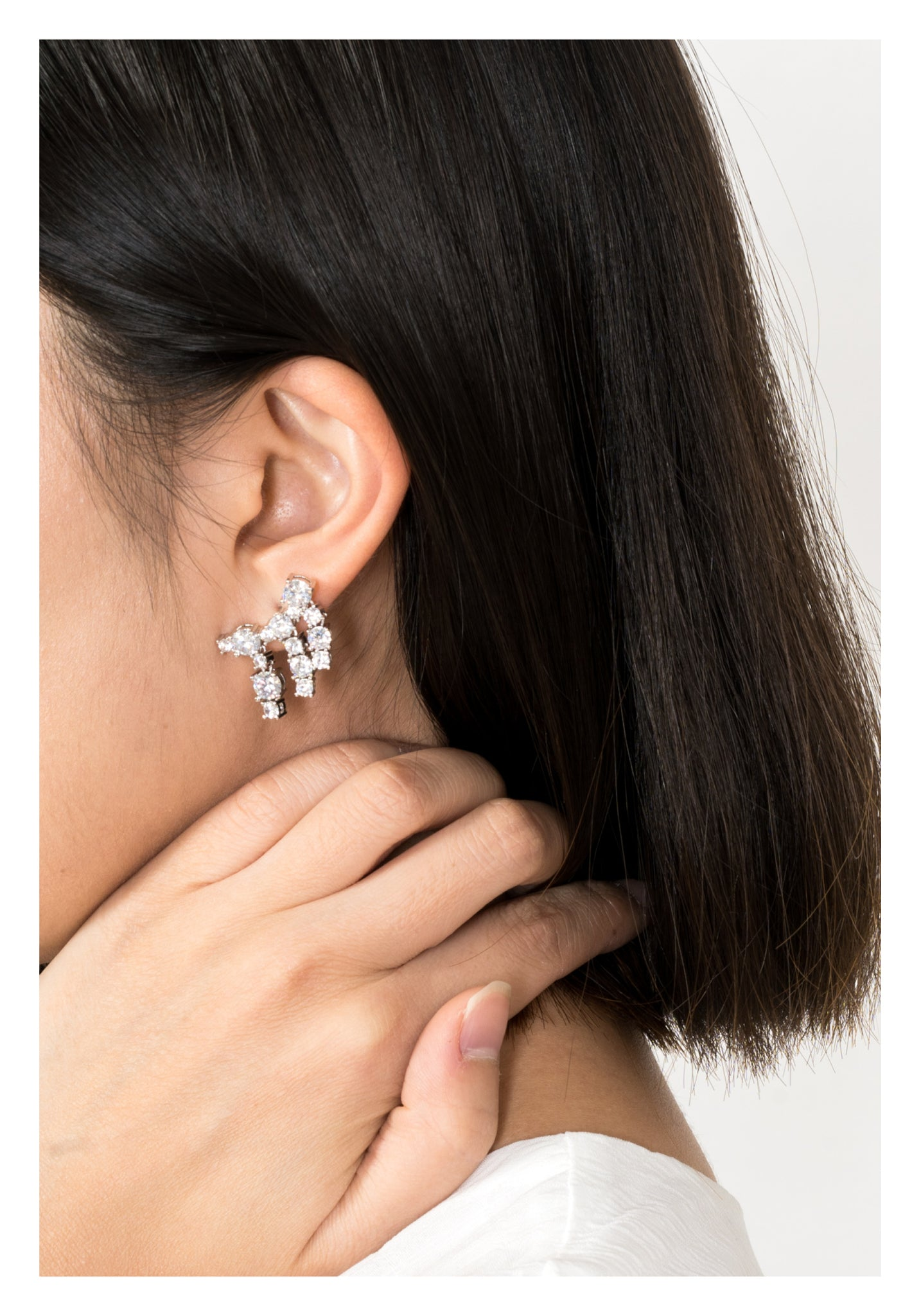 Sparkle Fringe Earrings - whoami