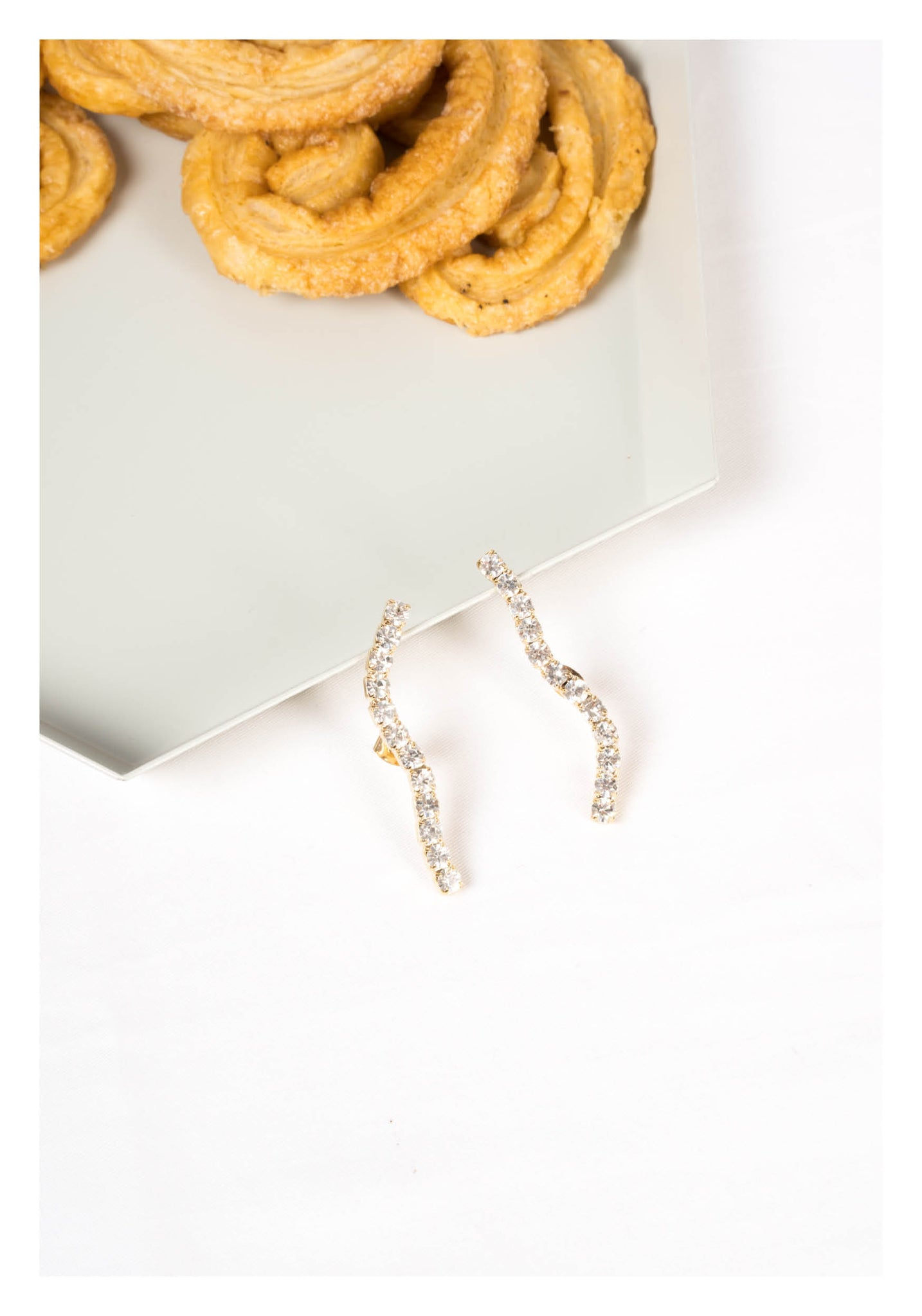 Sparkle Wave Earrings - whoami