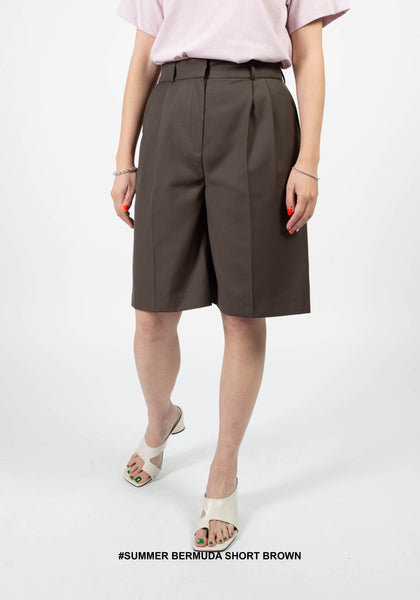 Summer Bermuda Short Brown