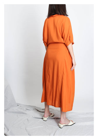 Summer Essential Dress Orange - whoami