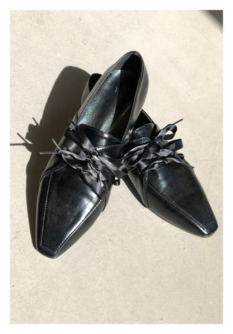 Triple Ribbon Oxford Shoes