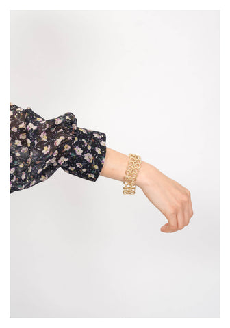 Triple Chain Buckle Bracelet - whoami