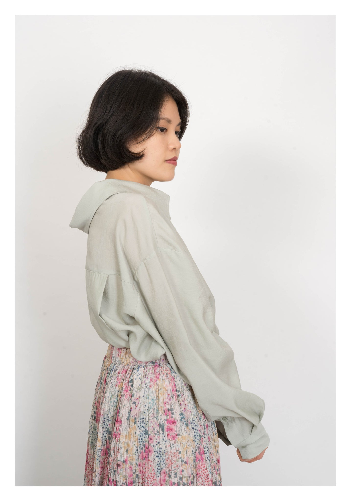 Two Way Off Shoulder Blouse Mint - whoami