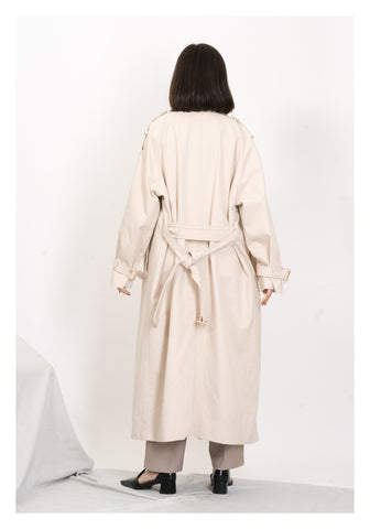Two Tone Collar Trench Coat - whoami