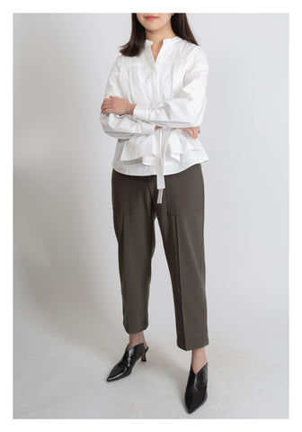 Floating Layered Blouse White - whoami