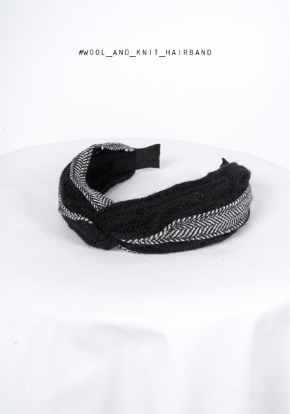 Wool And Knit Hairband