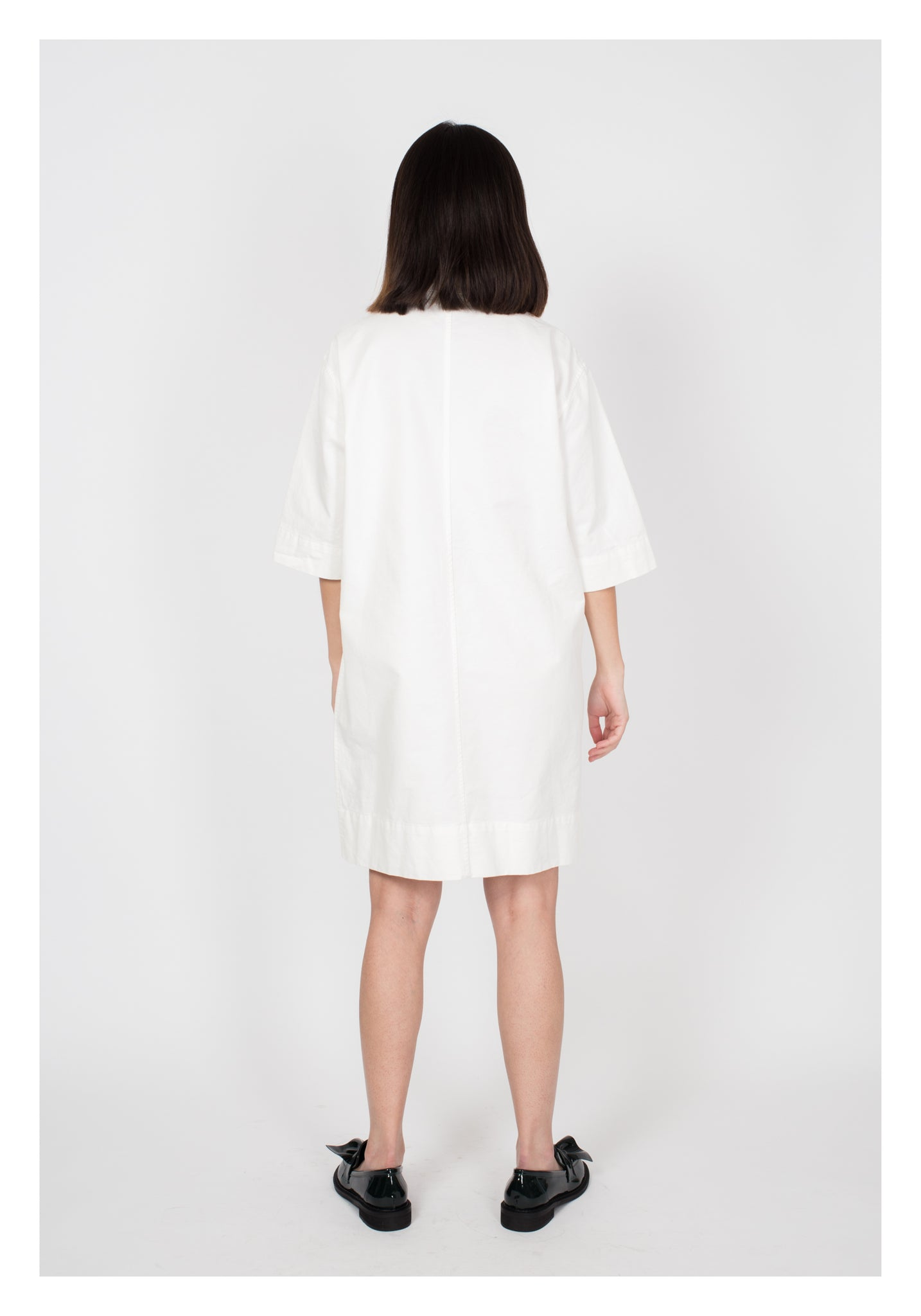 Workware Short Dress White