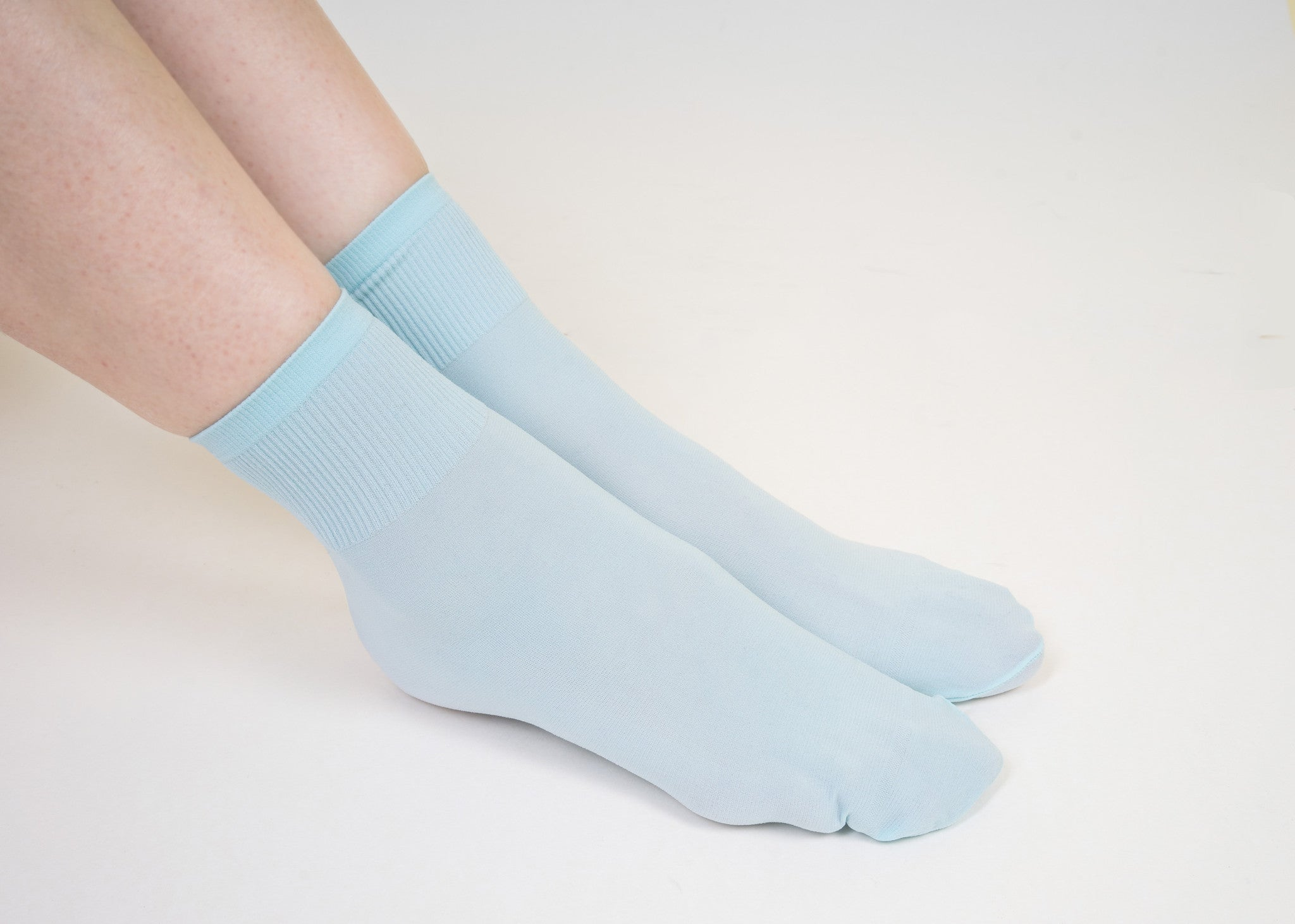Baby Blue Basic Socks - whoami