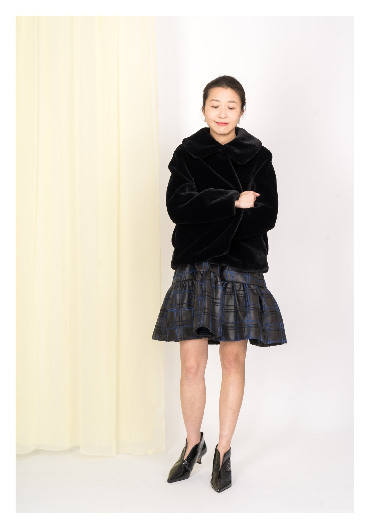 Faux Fur Doll Coat