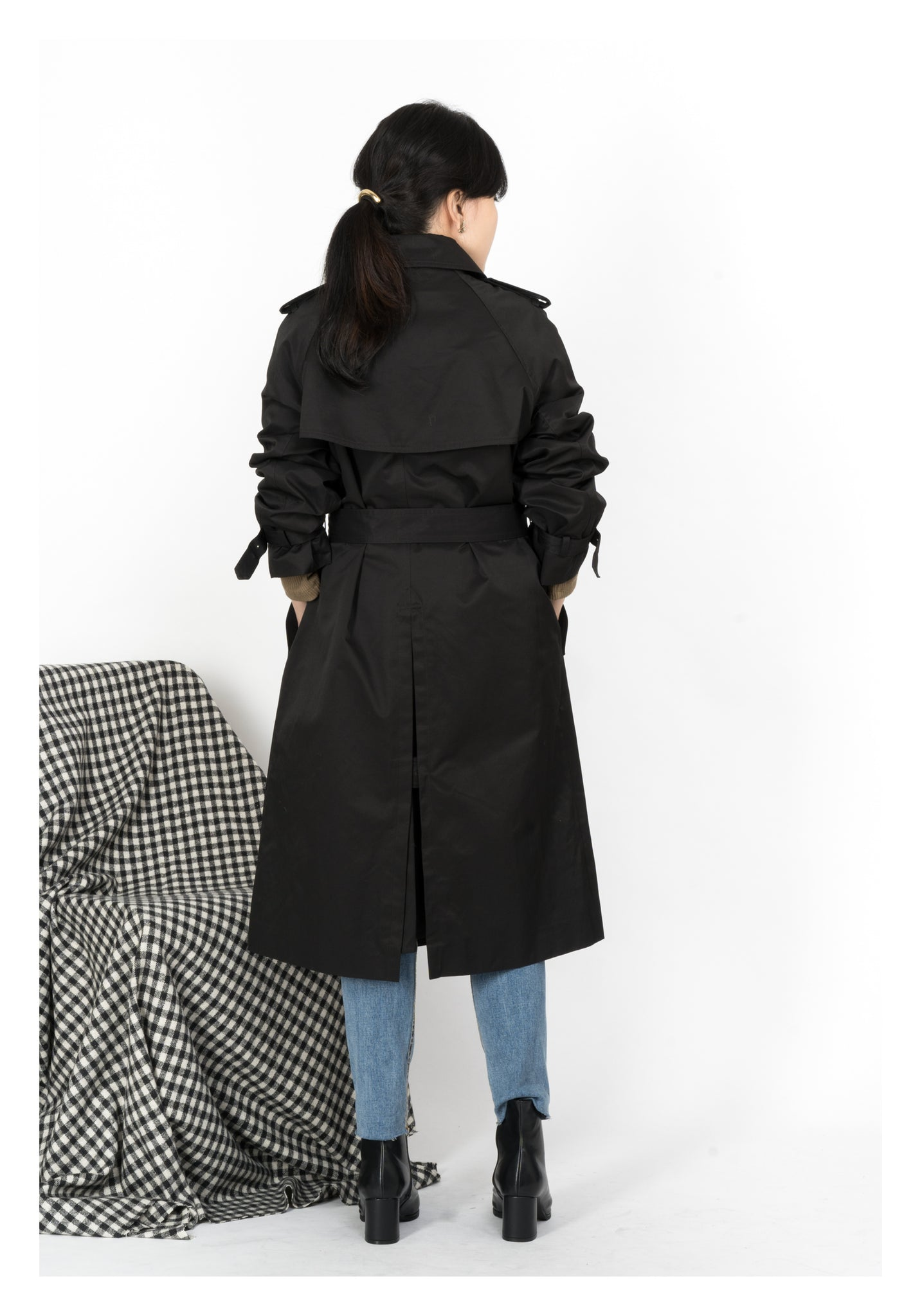 Classic Trench Coat Black